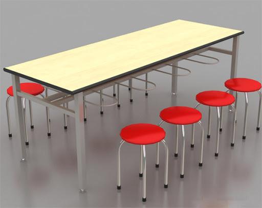 Có nên mua bàn ăn công nghiệp bằng gỗ (2)